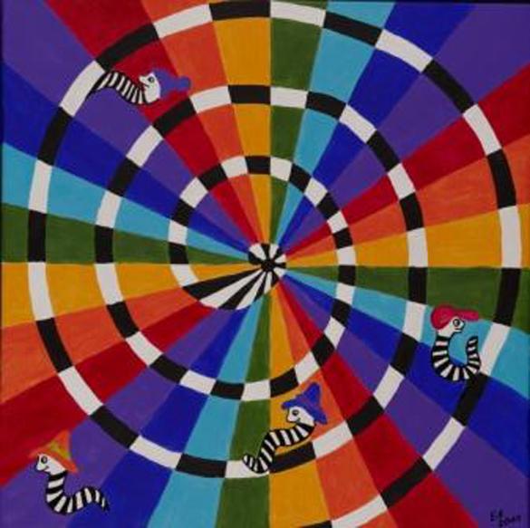 Regenbogen-Regenwurm
