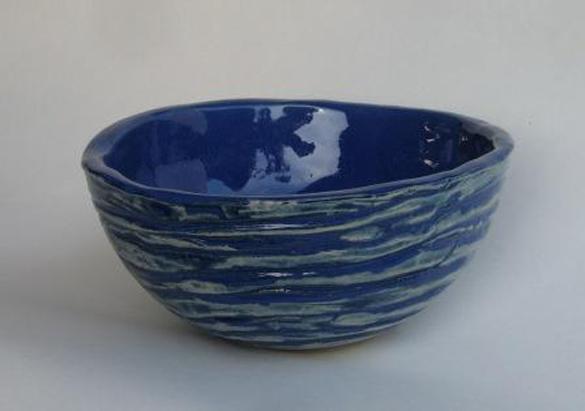Schale - blau wie das Meer